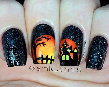 20-Halloween-Acrylic-Nail-Art-Designs-Ideas-Trends-Stickers-2014-19