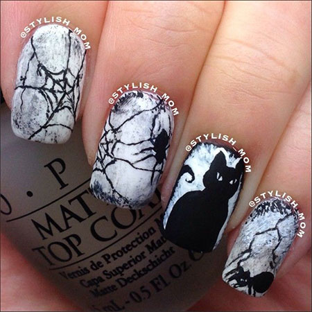 20 halloween acrylic nail art designs ideas trends stickers 20 halloween acrylic nail art designs ideas trends prinsesfo Gallery
