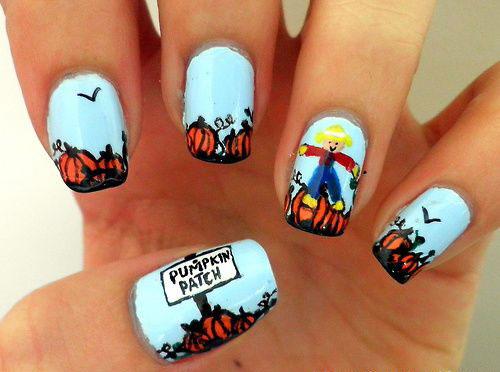 20-Halloween-Pumpkin-Nail-Art-Designs-Ideas-Trends-Stickers-2014-17