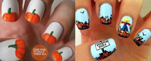 Halloween 2014 fabulous nail art designs part 2 20 halloween pumpkin nail art designs ideas trends stickers 2014 prinsesfo Images
