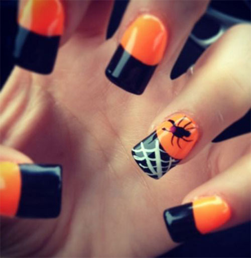 20 Simple Halloween Nail Art Designs Ideas Trends Stickers For
