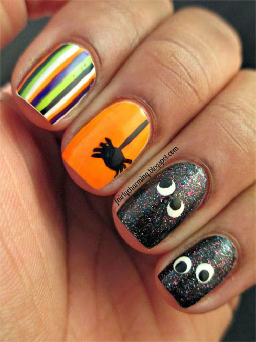 20 Simple Halloween Nail Art Designs Ideas Trends