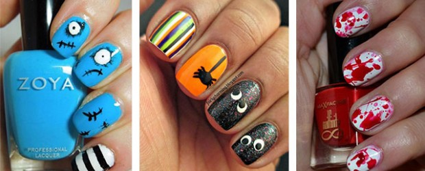 20-Simple-Halloween-Nail-Art-Designs-Ideas-Trends-Stickers-For-Girls-2014