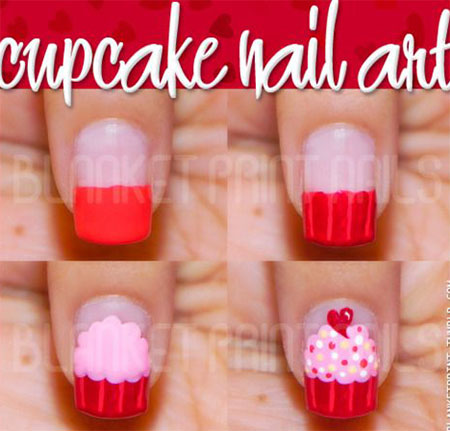 10-Easy-Red-Nail-Art-Tutorials-For-Beginners-Learners-2014-11