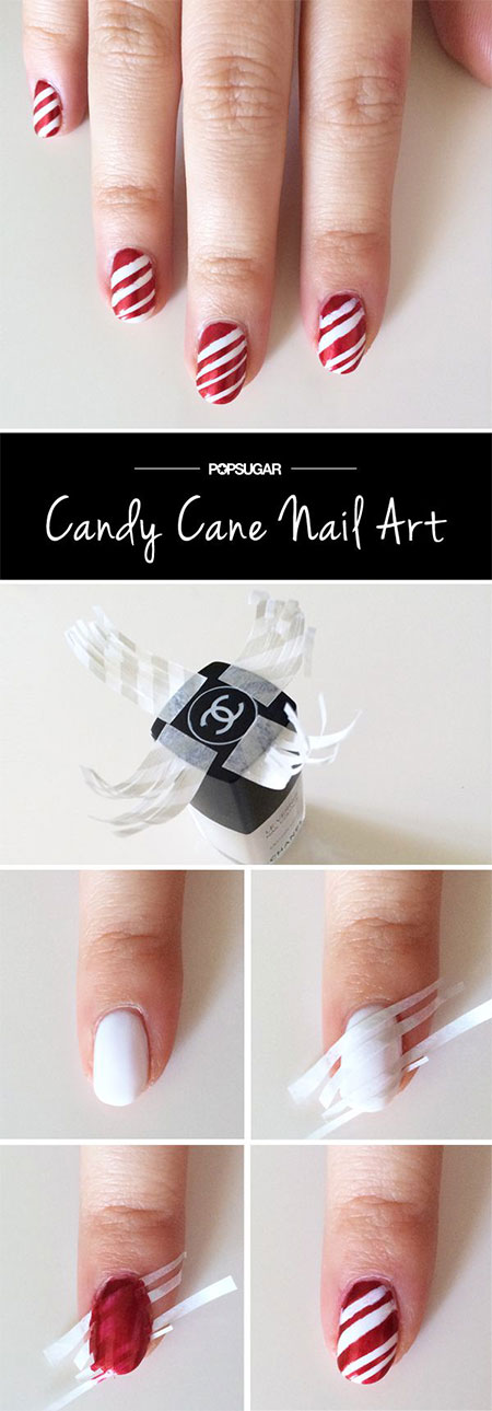 10-Easy-Red-Nail-Art-Tutorials-For-Beginners-Learners-2014-6