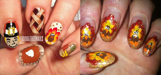 10 + Turkey Nail Art Designs, Ideas, Trends & Stickers 2014 | Fabulous Nail  Art Designs - 10 + Turkey Nail Art Designs, Ideas, Trends & Stickers 2014