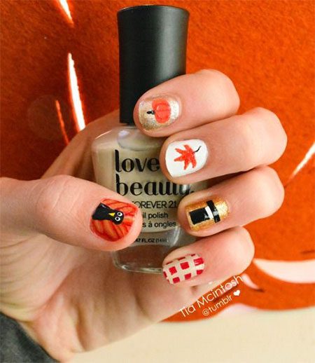 12-Easy-Cute-Thanksgiving-Nail-Art-Designs-Ideas-Trends-Stickers-2014-13