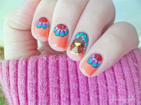 12-Easy-Cute-Thanksgiving-Nail-Art-Designs-Ideas-Trends-Stickers-2014-7