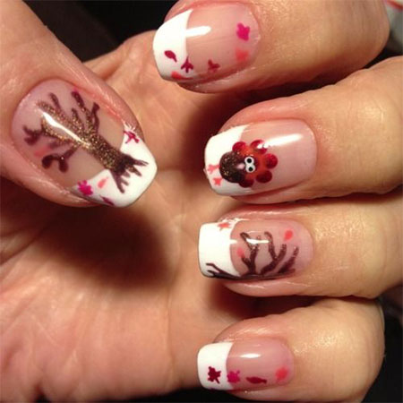 12-Easy-Cute-Thanksgiving-Nail-Art-Designs-Ideas-Trends-Stickers-2014-8