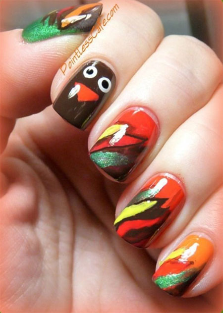 12-Easy-Cute-Thanksgiving-Nail-Art-Designs-Ideas-Trends-Stickers-2014-9