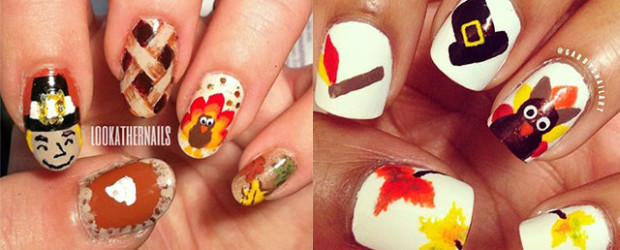 12-Easy-Cute-Thanksgiving-Nail-Art-Designs-Ideas-Trends-Stickers-2014