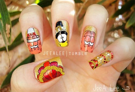 12-Thanksgiving-Nails-Art-Ideas-Designs-For-Girls-2014-3
