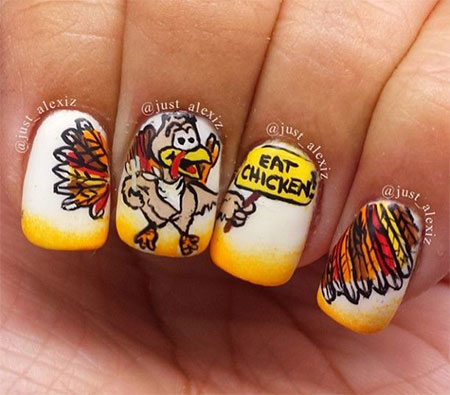 15 thanksgiving nail art designs ideas trends stickers 2014 15 thanksgiving nail art designs ideas trends stickers prinsesfo Gallery