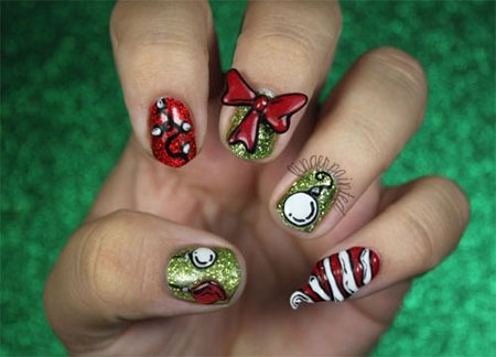 20-Easy-Simple-Christmas-Nail-Art-Designs-Ideas-Stickers-2014-Xmas-Nails-4