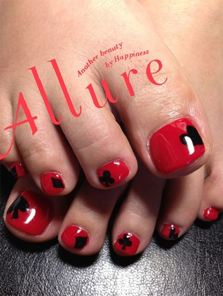 Cute-Red-Toe-Nail-Art-Designs-Ideas-Trends-Stickers-2014-3