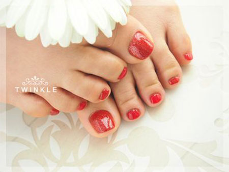Cute-Red-Toe-Nail-Art-Designs-Ideas-Trends-Stickers-2014-7