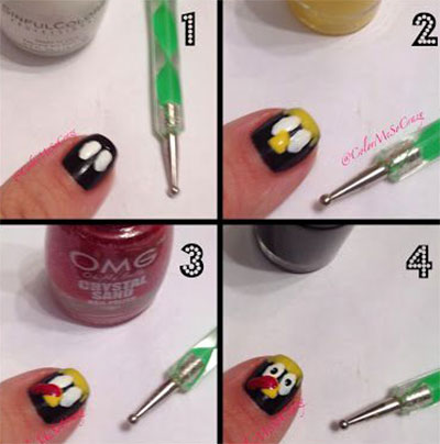 Simple Step By Step Thanksgiving Nail Art Tutorials For Beginners