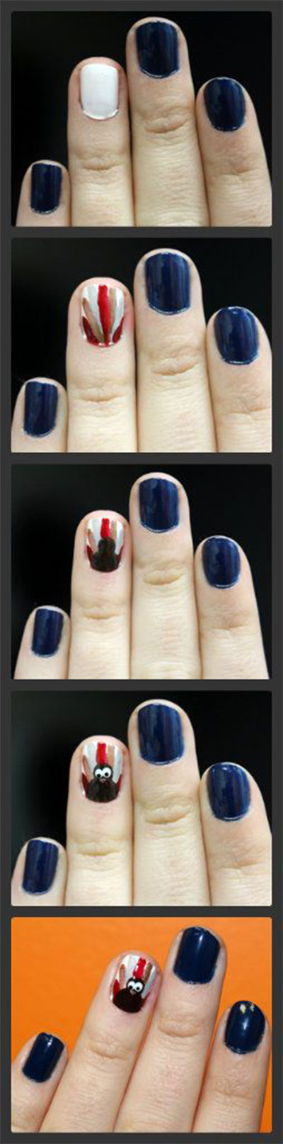 Simple-Step-By-Step-Thanksgiving-Nail-Art-Tutorials-For-Beginners-2014-5
