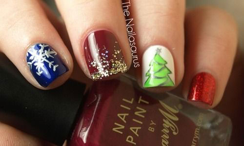 10-Christmas-Acrylic-Nail-Art-Designs-Ideas-Trends-Stickers-2014-Xmas-Nails-10