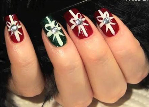 10+ Christmas Acrylic Nail Art Designs, Ideas, Trends & Stickers ...