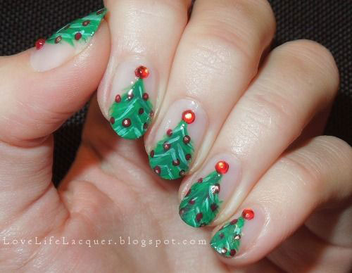 10-Christmas-Acrylic-Nail-Art-Designs-Ideas-Trends-Stickers-2014-Xmas-Nails-6