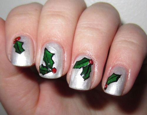 10-Christmas-Acrylic-Nail-Art-Designs-Ideas-Trends- - 10+ Christmas Acrylic Nail Art Designs, Ideas, Trends & Stickers