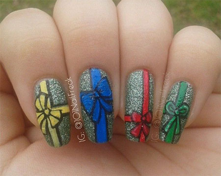 12-Easy-Christmas-Present-Nail-Art-Designs-Ideas-Trends-Stickers-2014-Xmas-Nails-8