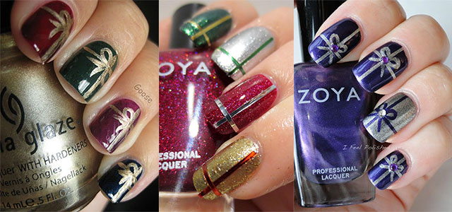 12-Easy-Christmas-Present-Nail-Art-Designs-Ideas-Trends-Stickers-2014-Xmas-Nails