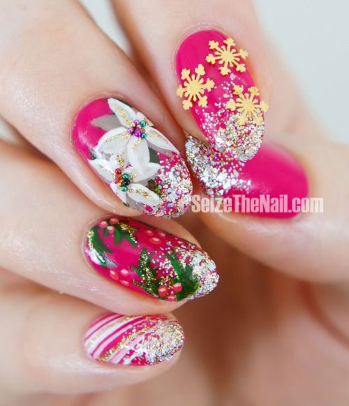 15-Christmas-Glitter-Silver-Nail-Art-Designs-Ideas-Stickers-2014-Xmas-Nails-14