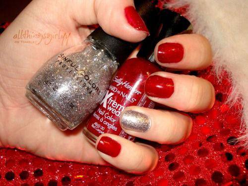 15-Christmas-Glitter-Silver-Nail-Art-Designs-Ideas-Stickers-2014-Xmas-Nails-15
