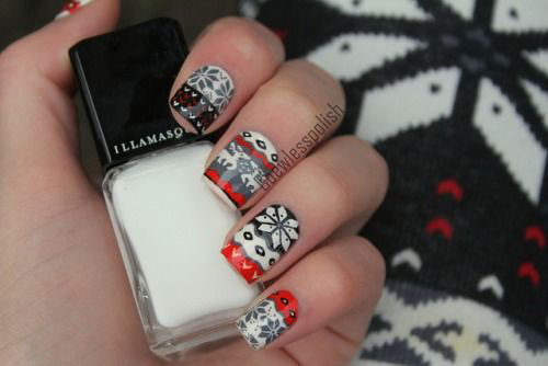 15-Christmas-Sweater-Nail-Art-Designs-Ideas-Trends-Stickers-2014-12