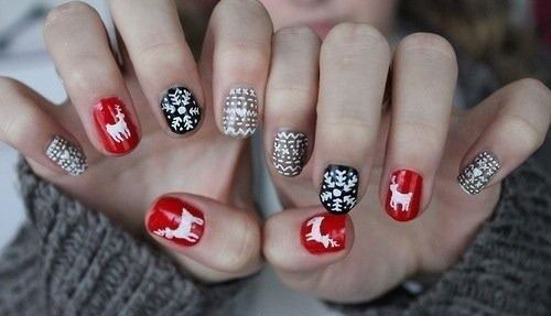 15-Christmas-Sweater-Nail-Art-Designs-Ideas-Trends-Stickers-2014-13