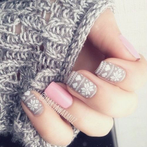 15-Christmas-Sweater-Nail-Art-Designs-Ideas-Trends-Stickers-2014-14
