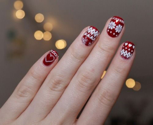 15-Christmas-Sweater-Nail-Art-Designs-Ideas-Trends-Stickers-2014-15