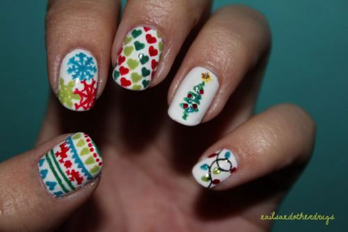 15-Christmas-Sweater-Nail-Art-Designs-Ideas-Trends-Stickers-2014-6