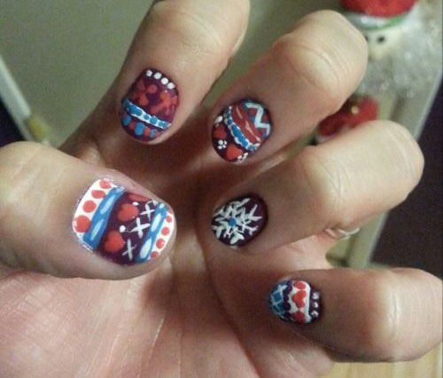15-Christmas-Sweater-Nail-Art-Designs-Ideas-Trends-Stickers-2014-7