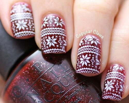 15-Christmas-Sweater-Nail-Art-Designs-Ideas-Trends-Stickers-2014-8