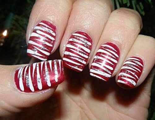 15-Red-Green-Gold-Christmas-Nail-Art-Designs-Ideas-Trends-Stickers-2014-Xmas-Nails-13