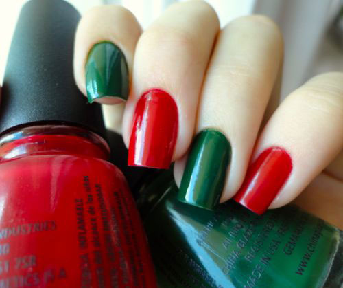 15-Red-Green-Gold-Christmas-Nail-Art-Designs-Ideas-Trends-Stickers-2014-Xmas-Nails-4