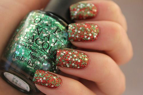 15-Red-Green-Gold-Christmas-Nail-Art-Designs-Ideas-Trends-Stickers-2014-Xmas-Nails-5