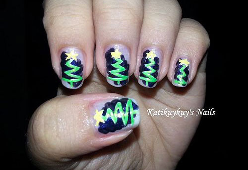 15-Simple-Christmas-Tree-Nail-Art-Designs-Ideas-Stickers-2014-10