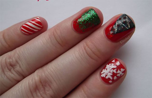 15-Simple-Christmas-Tree-Nail-Art-Designs-Ideas-Stickers-2014-16