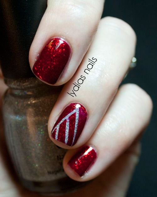 15-Simple-Christmas-Tree-Nail-Art-Designs-Ideas-Stickers-2014-2