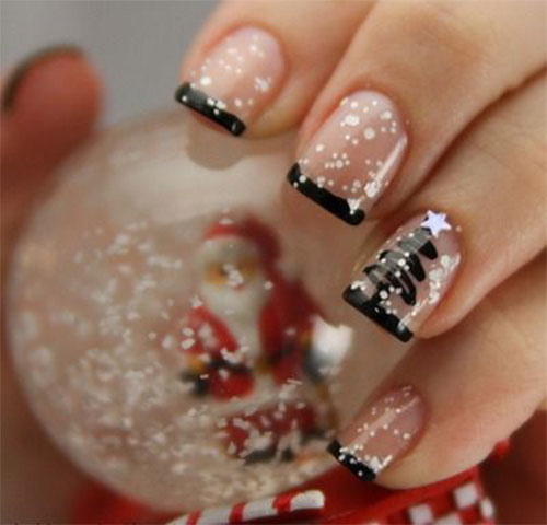 15-Simple-Christmas-Tree-Nail-Art-Designs-Ideas-Stickers-2014-4