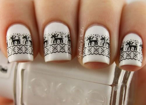 20-Cool-Reindeer-Nail-Art-Designs-Ideas-Trends-Stickers-2014-Xmas-Nails-16