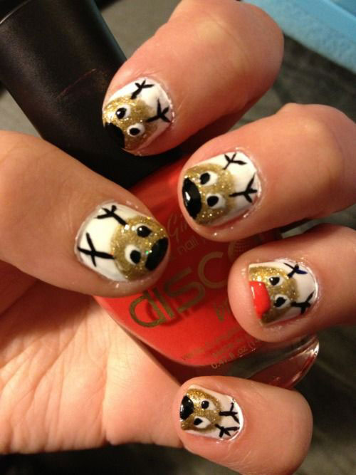 20-Cool-Reindeer-Nail-Art-Designs-Ideas-Trends-Stickers-2014-Xmas-Nails-19