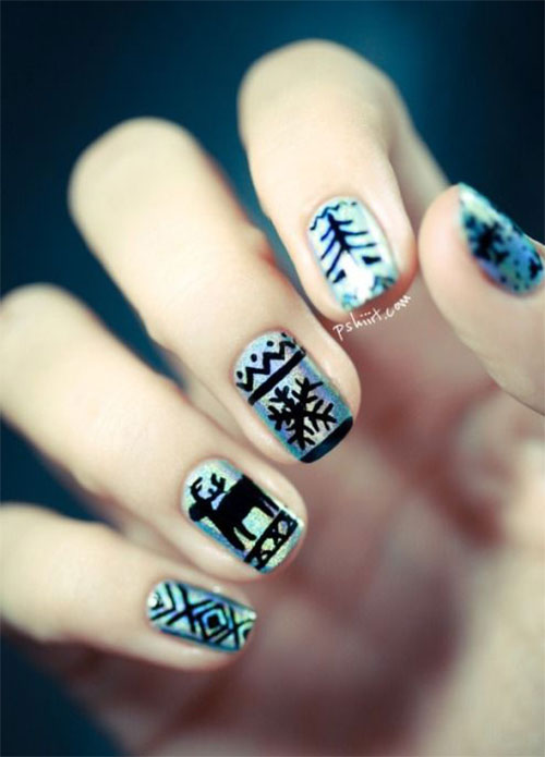 20-Cool-Reindeer-Nail-Art-Designs-Ideas-Trends-Stickers-2014-Xmas-Nails-20