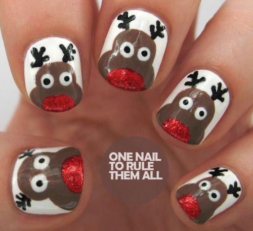 20-Cool-Reindeer-Nail-Art-Designs-Ideas-Trends-Stickers-2014-Xmas-Nails-3