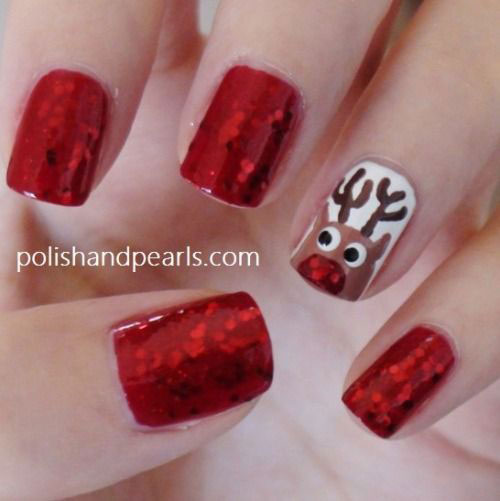 20-Cool-Reindeer-Nail-Art-Designs-Ideas-Trends-Stickers-2014-Xmas-Nails-4