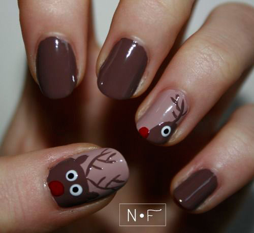 20-Cool-Reindeer-Nail-Art-Designs-Ideas-Trends-Stickers-2014-Xmas-Nails-5